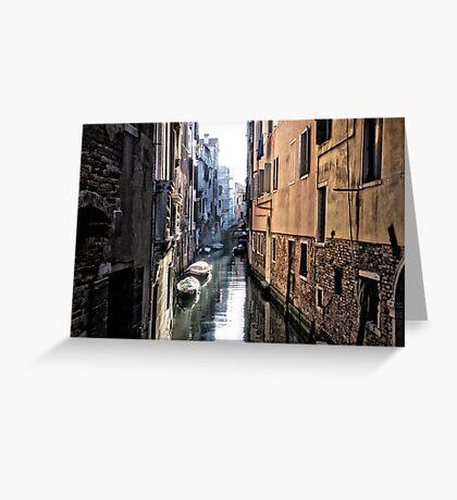 Secret Venice Greeting Card