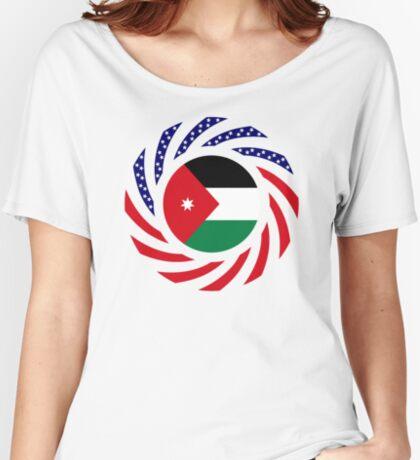 Jordani American Multinational Patriot Flag Series Relaxed Fit T-Shirt