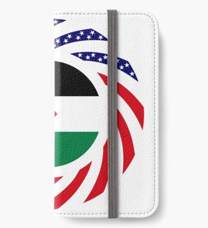 Jordani American Multinational Patriot Flag Series iPhone Wallet
