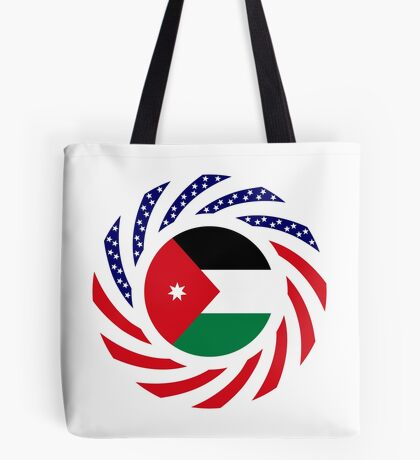 Jordani American Multinational Patriot Flag Series Tote Bag
