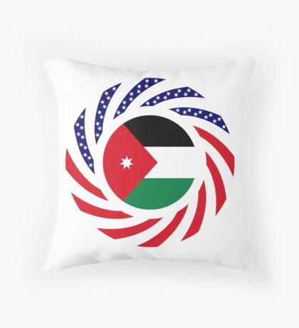 Jordani American Multinational Patriot Flag Series Throw Pillow