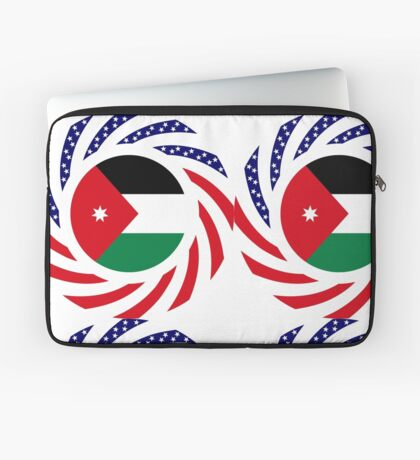 Jordani American Multinational Patriot Flag Series Laptop Sleeve