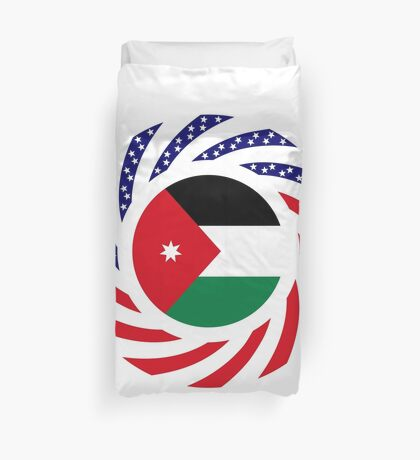 Jordani American Multinational Patriot Flag Series Duvet Cover