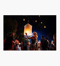 Festival Lights  Photographic Print