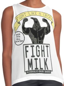 Fight Milk Contrast Tank