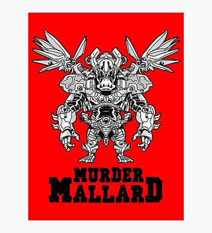 Murder Mallard Photographic Print