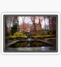 Winterthur Estate with Reflecting Pool Sticker