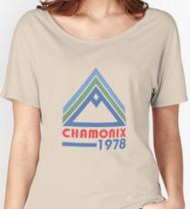 chamonix Women's Relaxed Fit T-Shirt