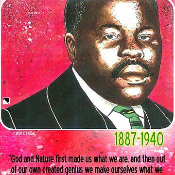 Marcus Mosiah Garvey by cjjuzang