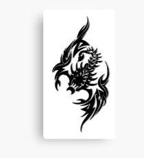 Pixel Scorpion Canvas Print