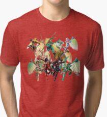 Legend of Dragoon Dragoons Tri-blend T-Shirt
