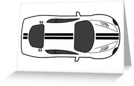 Sports car by Zzart
