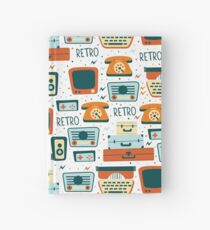 Retro Devices Hardcover Journal