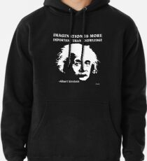 Sudadera con capucha Rule Albert Einstein T-Shirt Imagination Is More Important Than Knowledge