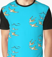 Birds in flight Graphic T-Shirt