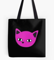 Meow fluo pink Tote Bag