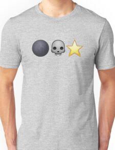 Emoji Death Star Unisex T-Shirt
