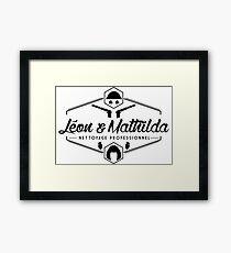 Leon and Mathilda Corporation Framed Print