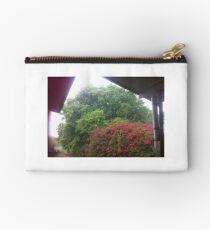 Sun Shower, Trees, Bougainvillea Tree,  Studio Pouch