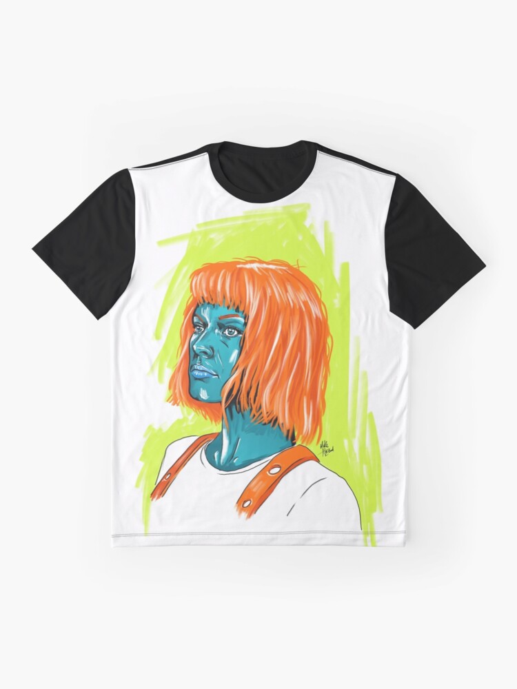 Alternate view of Leeloo Graphic T-Shirt