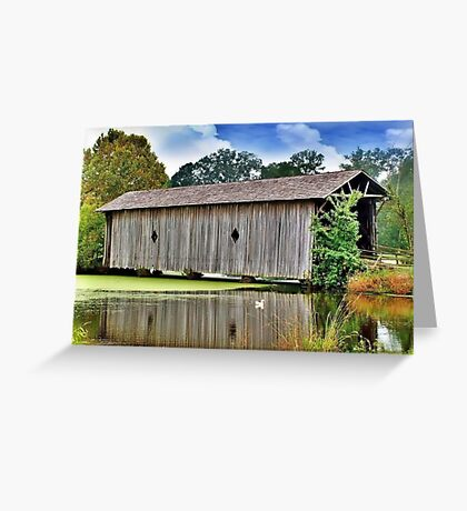 Sumter County Covered Bridge Greeting Card