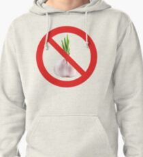 Not stinks of garlic. Pullover Hoodie