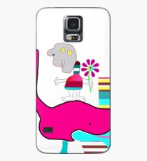 Harold with flower Case/Skin for Samsung Galaxy
