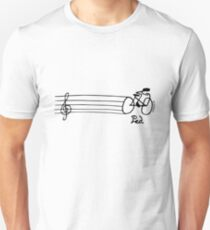 How does a musician get to orchestra? - Light Version Unisex T-Shirt
