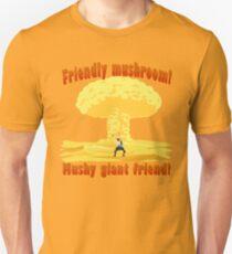 Friendly mushroom Q Unisex T-Shirt