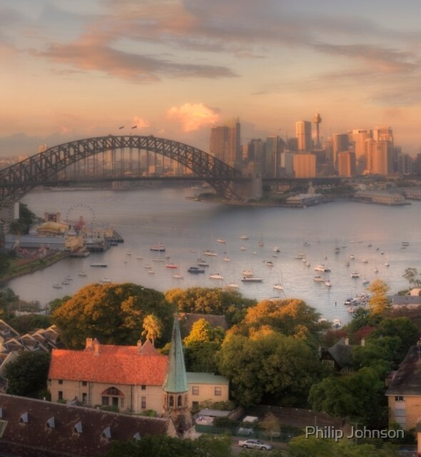 Velvet - Sydney  Harbour Sydney Australia - The HDR Experience by Philip Johnson