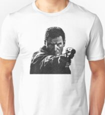 Deckard (Blade Runner) - Cross Hatched Sketch T-Shirt