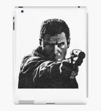 Deckard (Blade Runner) - Cross Hatched Sketch iPad Case/Skin