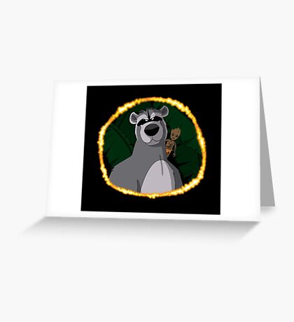 Guardians of the Jungle Greeting Card