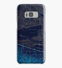USGS TOPO Map California CA Honker Bay 296168 1918 31680 geo Inverted Samsung Galaxy Case/Skin