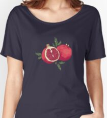 Juicy pomegranate fruits Women's Relaxed Fit T-Shirt