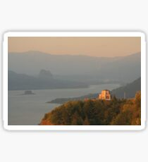 Vista House   Columbia River Gorge Sticker