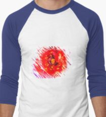 Digitally enhanced image of a perfect red Garden rose T-Shirt