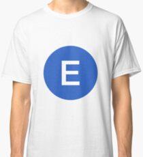 E Train Official Subway Logo Classic T-Shirt