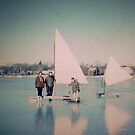 Ice Boating by Kenneth Hoffman
