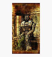 Ancient Robot Photographic Print