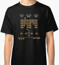 ROBUST INVADERS SPACE GAME Classic T-Shirt