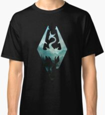 Skyrim landscape Classic T-Shirt