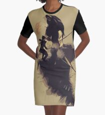Lara Croft - Tomb Raider v8 Graphic T-Shirt Dress
