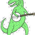 Dino Banjo by wolfmaskart