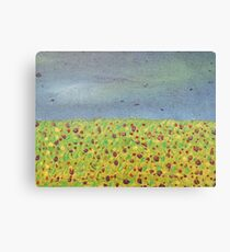 Meadow At Dusk Canvas Print