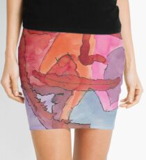 grasping the situation Mini Skirt