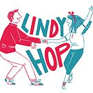 Lindy hop - Swing out  by Laura  Wood