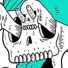 Mystic Skull by wolfmaskart