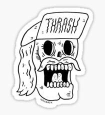 Thrashtache! Sticker
