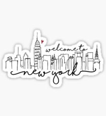 Welcome to New York Sticker